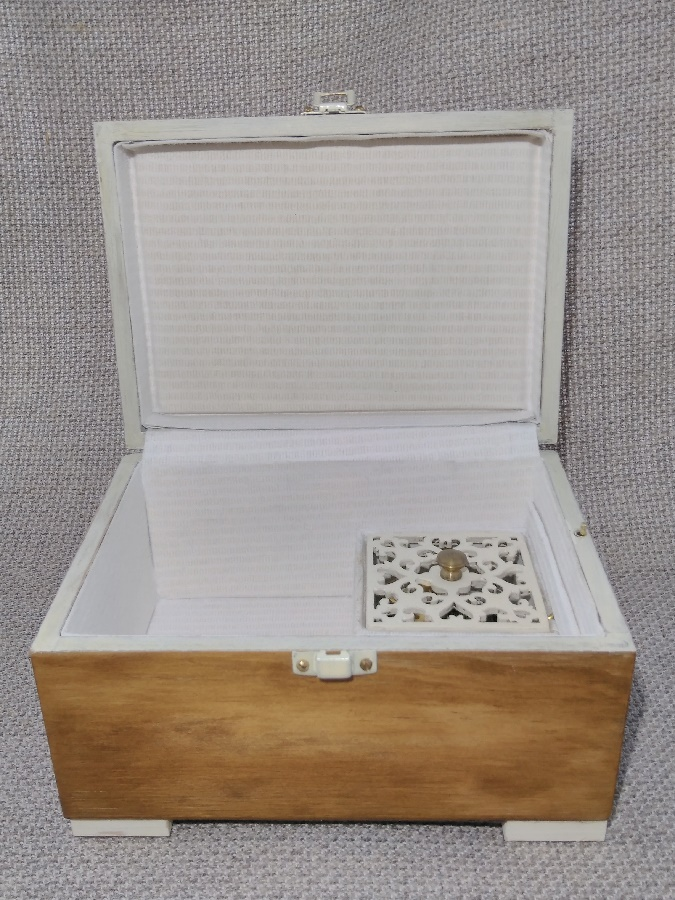 Caja de música estilo vintage