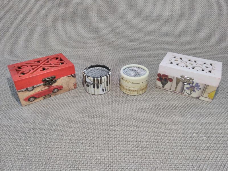 Mini cajas de música. Melodía a elegir.