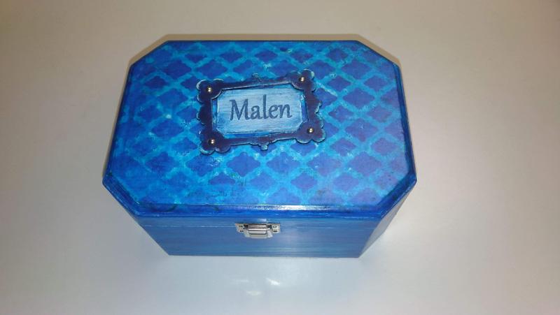 Caja de música infantil personalizada para Malen.